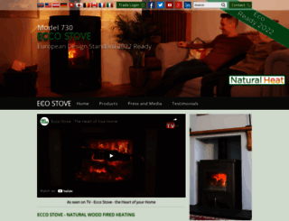 eccostove.com screenshot