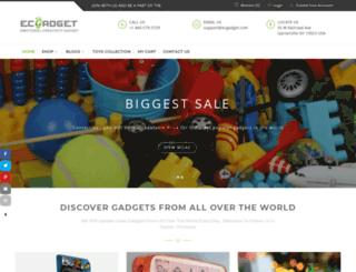 ecgadget.com screenshot