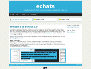 echats.net screenshot