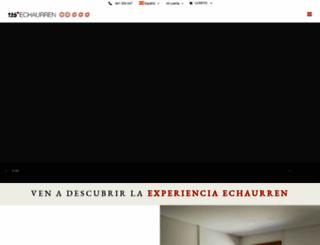 echaurren.com screenshot
