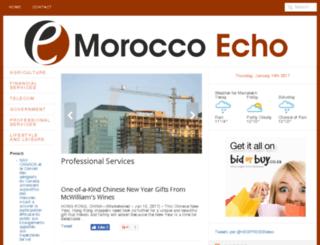 echo.co.ma screenshot
