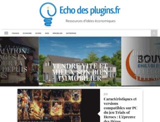 echodesplugins.fr screenshot