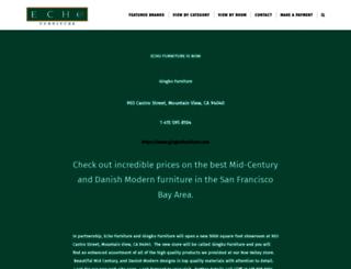 echofurnituresf.com screenshot