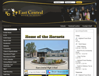 echs.ecisd.net screenshot