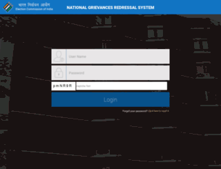 eci-citizenservicesforofficers.nic.in screenshot