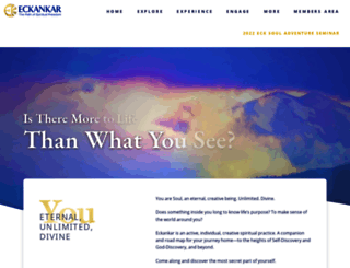 eckankar.org screenshot
