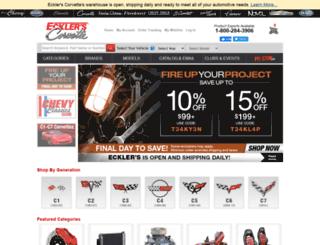 ecklersautomotive.com screenshot