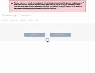 eclaimsline.com screenshot