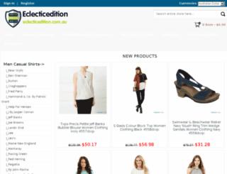eclecticedition.com.au screenshot