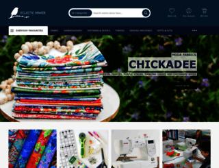 eclecticmaker.co.uk screenshot