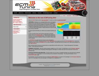 ecmtuning.com screenshot