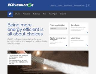 eco-insulation.co.za screenshot