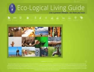 eco-logicalliving.com screenshot