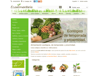 ecoalimentaria.es screenshot