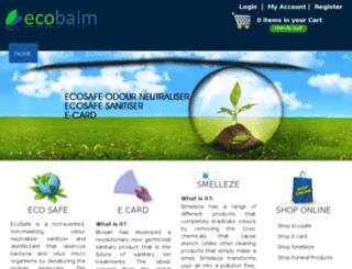 ecobalm.com.au screenshot