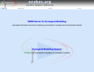 ecobas.org screenshot