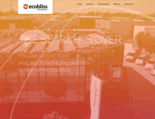 ecobliss.com screenshot