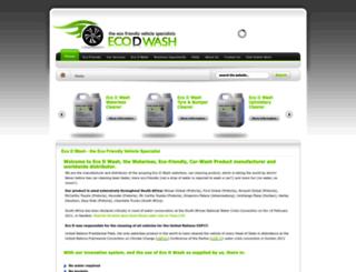 ecodwash.com screenshot