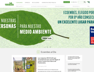 ecoembes.es screenshot