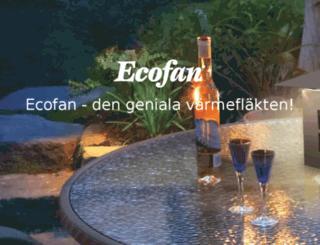 ecofan.se screenshot