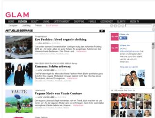 ecofashion.glam.de screenshot