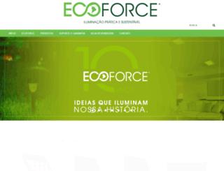 ecoforce.com.br screenshot