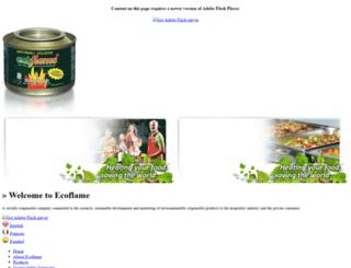 ecogel.com screenshot