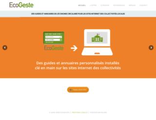 ecogeste.fr screenshot