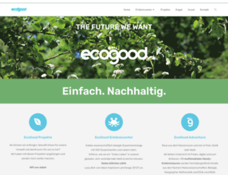 ecogood.de screenshot