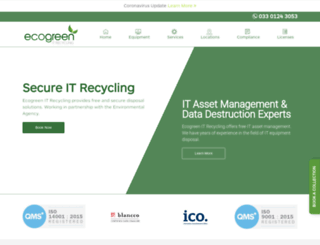 ecogreenitrecycling.co.uk screenshot