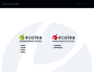 ecolea.de screenshot