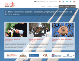 ecoleglobal.com screenshot