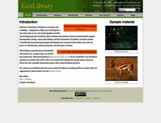ecolibrary.org screenshot