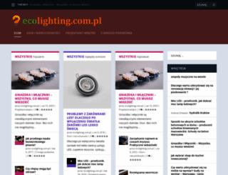 ecolighting.com.pl screenshot
