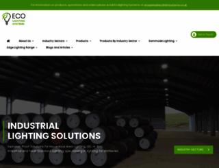 ecolightsystems.co.uk screenshot