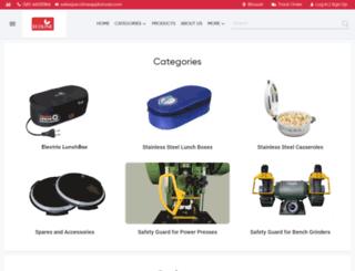 ecolineappliances.com screenshot