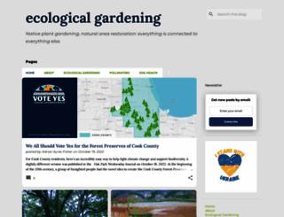 ecologicalgardening.net screenshot
