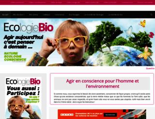 ecologie-bio.com screenshot