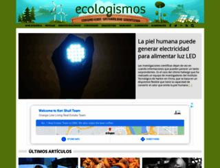 ecologismos.com screenshot