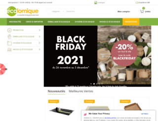 ecolomique.com screenshot