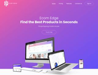 ecom-edge.com screenshot