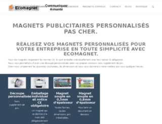 ecomagnet.fr screenshot