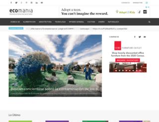 ecomania.org.ar screenshot