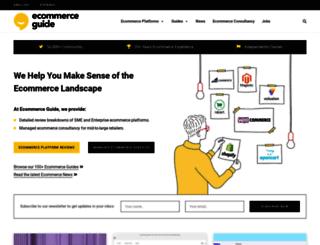 ecommerce-guide.com screenshot