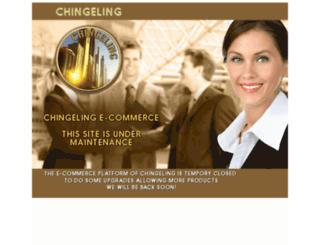 ecommerce.chingeling.com screenshot
