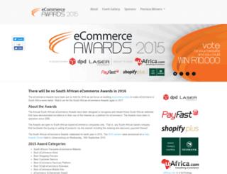 ecommerceawards.co.za screenshot