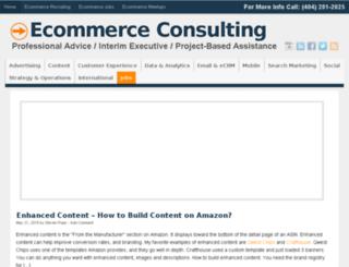 ecommerceconsulting.com screenshot