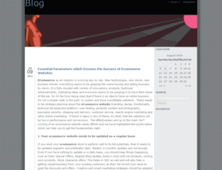ecommercedevelopment.sosblogs.com screenshot