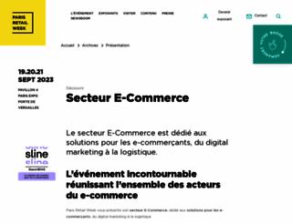 ecommerceparis.com screenshot