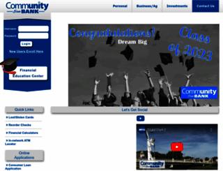 ecommunitybank.org screenshot